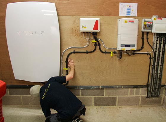 Tesla Servicing